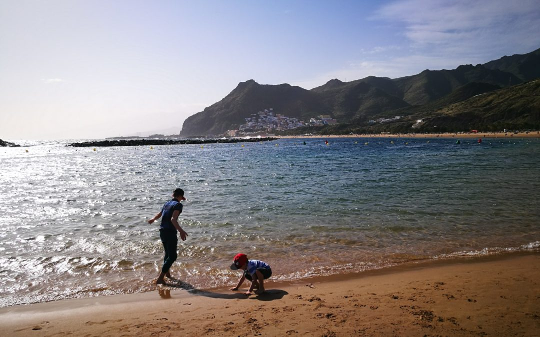 Our First Trip To The Beach – Playa Las Terasitas, Tenerife