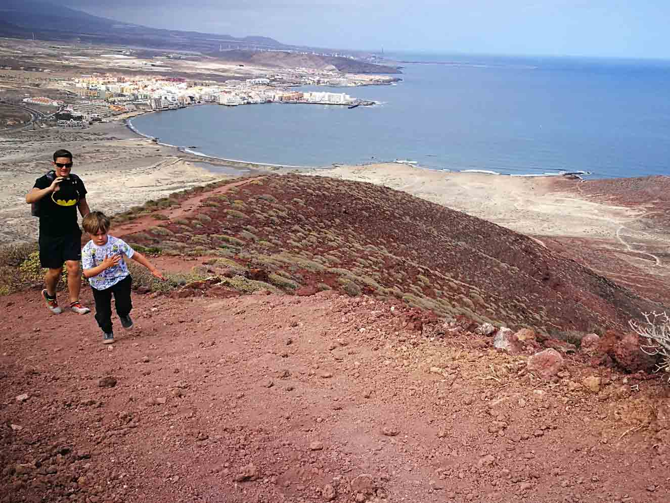Free Things to Do With Kids in Tenerife - Climbing Montana Roja With Kids