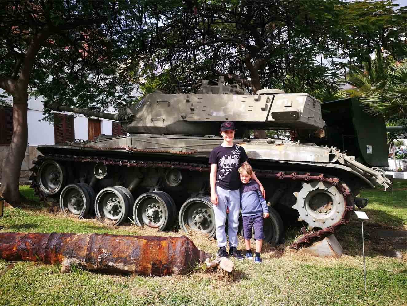 Free Things to Do With Kids in Tenerife - Santa Cruz Military Museum With Kids