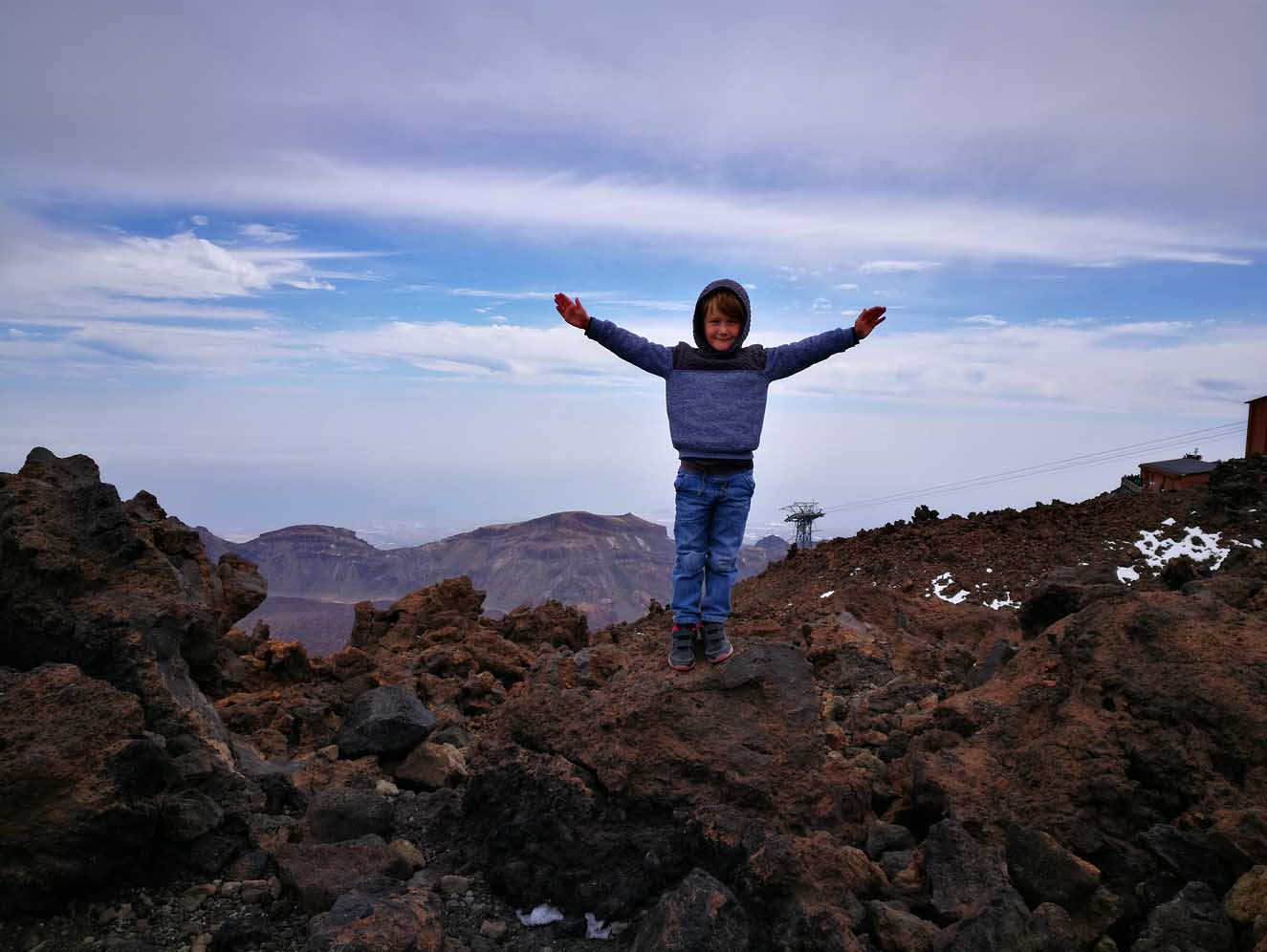 Free Things to Do With Kids in Tenerife - Mount Teide National Park With Kids