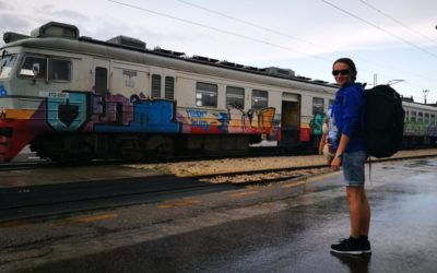 Our Balkan Train Trip & My Run In With An Inappropriate Drunk